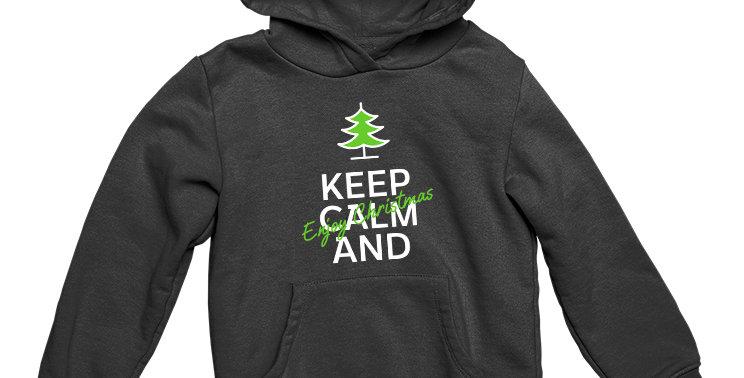 Худи Keep Calm and Enjoy Christmas
