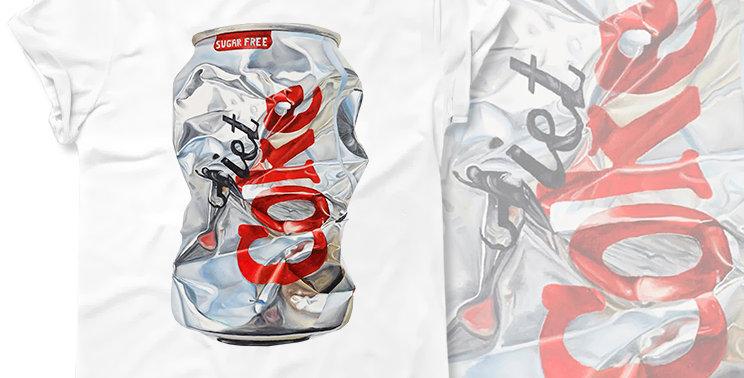 Футболка Diet Cola Sugar Free