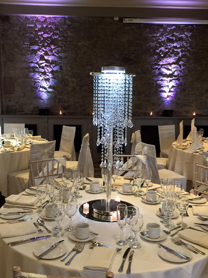 chandelier centre piece