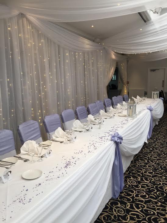 drapes lilac
