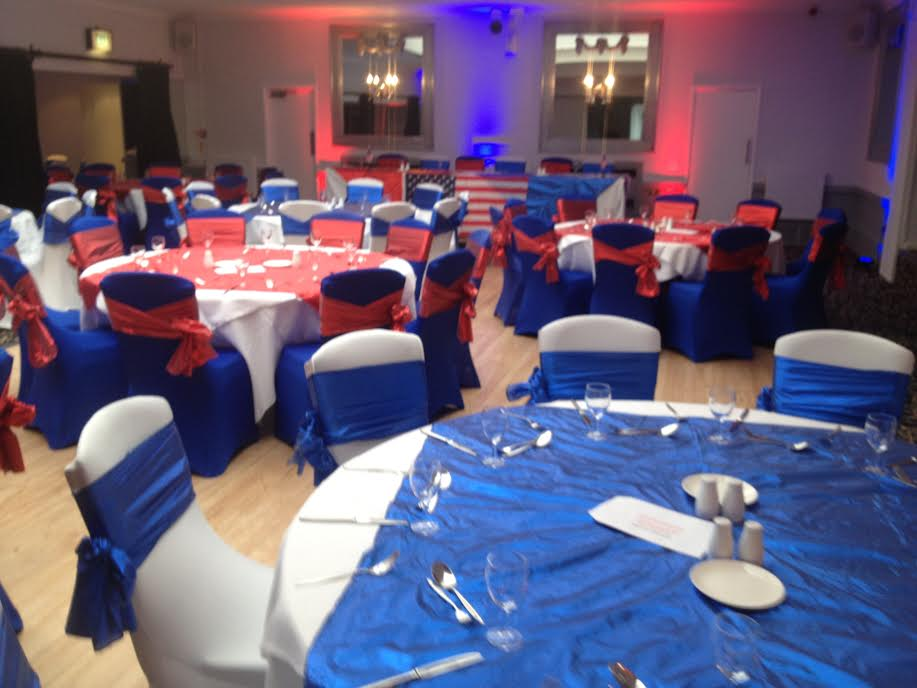 american theme at the Stirkhouse