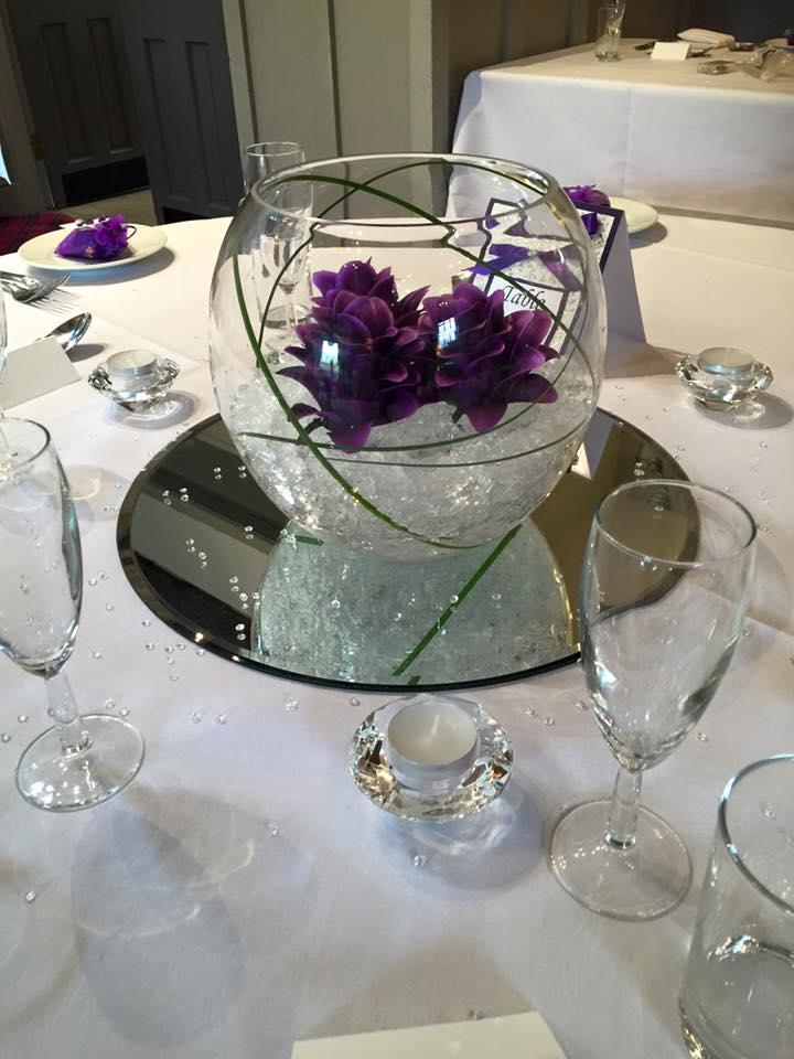 aubergine fishbowl