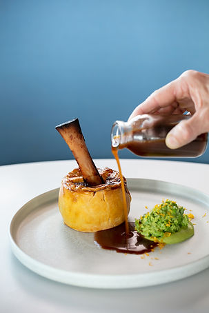 HAWKES BAY LAMB SHANK PIE // peas and gravy