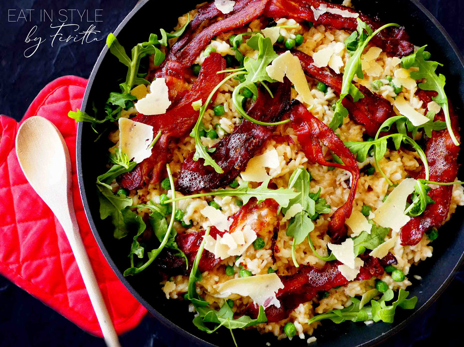 One Pot Oven Baked Risotto