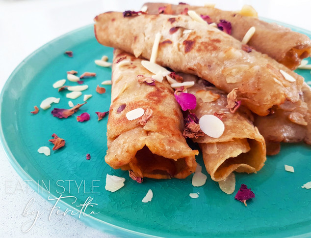 Katie Granna's Parsi Chapat (Parsi Style Spiced Pancake)