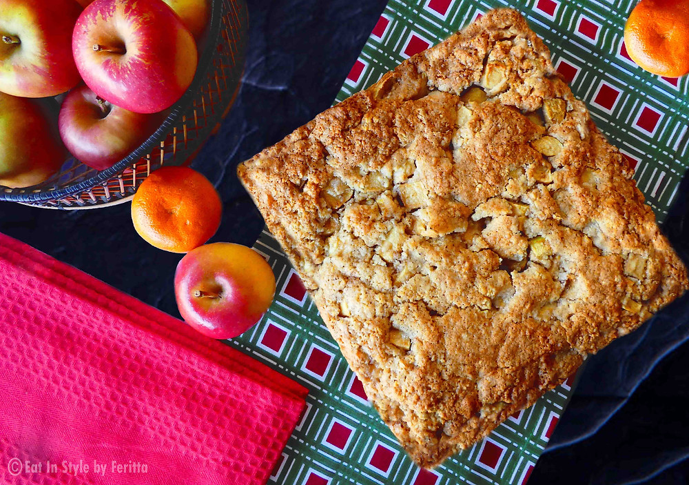 Old-Fashioned Apple Slice | Eat In Style by Feritta