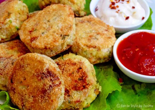 Mama Vil's Parsi Tuna Patties