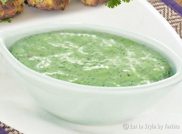 Coriander & Yogurt Dip