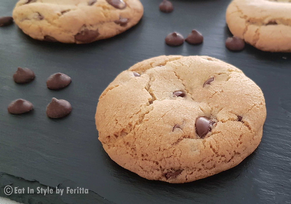 Best Spelt Choc Chip Cookies | Eat In Style by Feritta