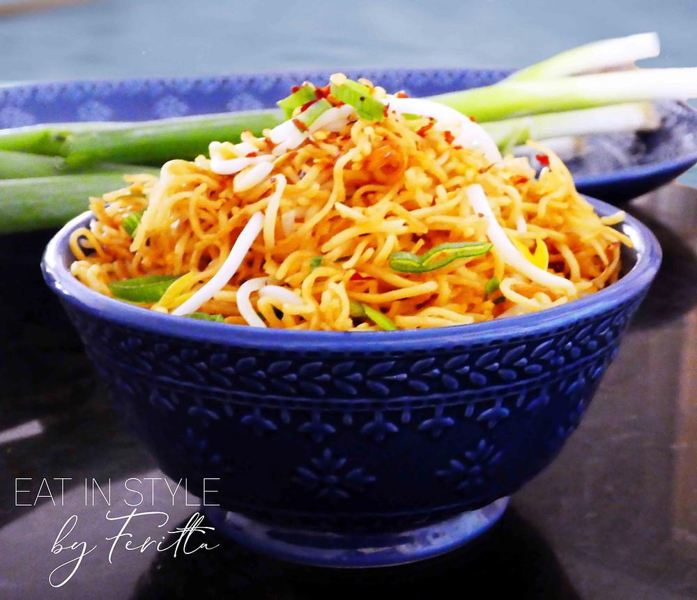 Pan Fried Asian Noodles | Eat In Style by Feritta