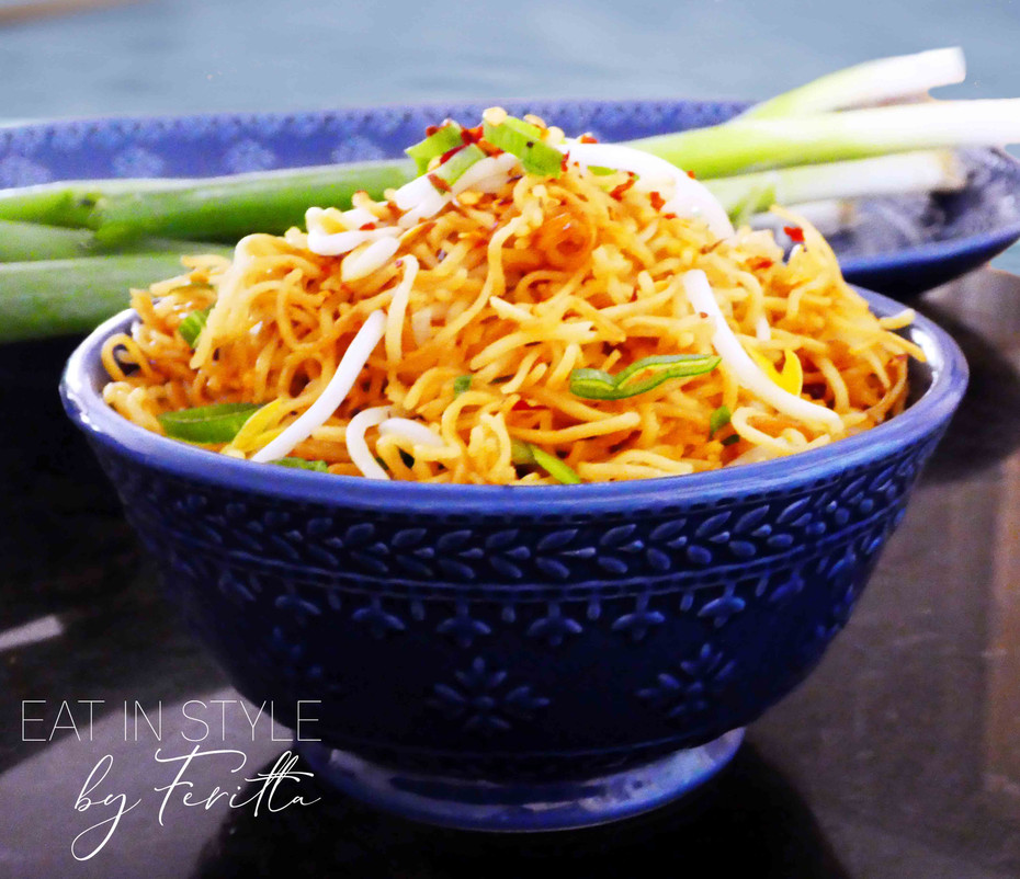 Pan Fried Asian Noodles
