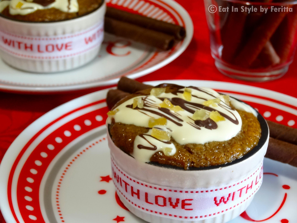 Banana & Date Pudding | Eat In Style by Feritta