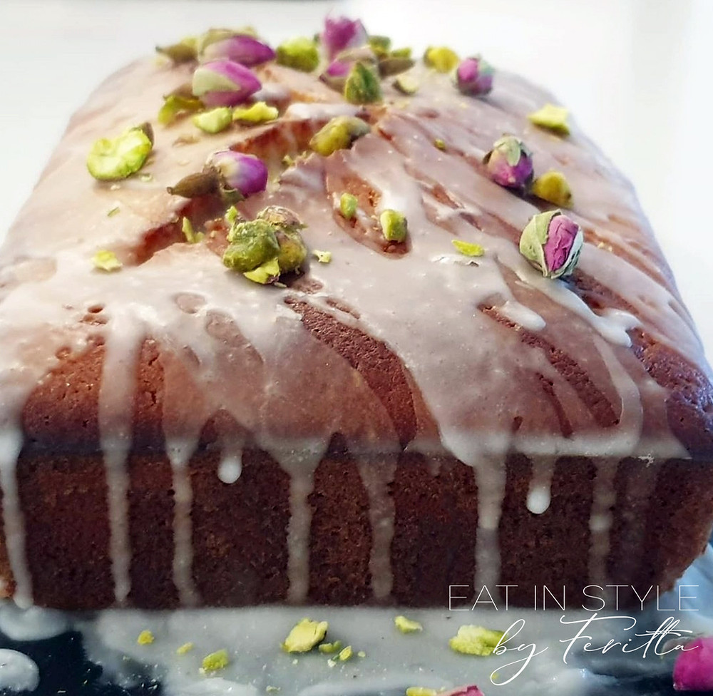 Spelt Grapefruit Cake | Eat In Style by Feritta