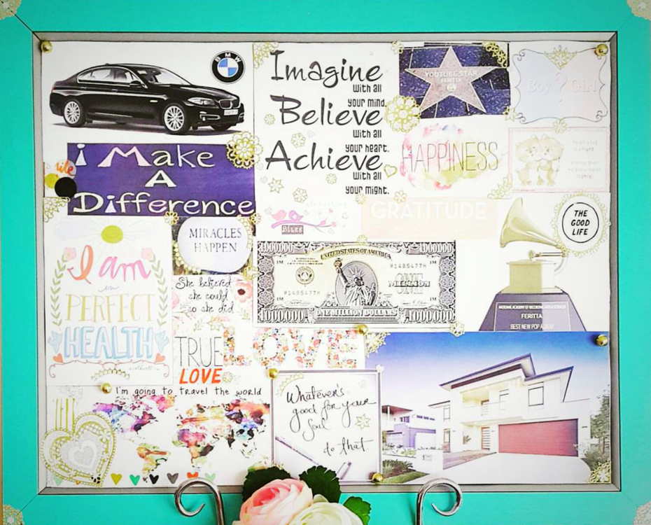 Creating My Vision Board