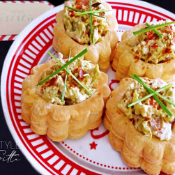 Chicken & Asparagus Vol-Au-Vents