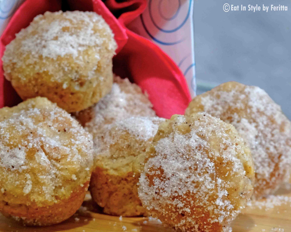 Sugar & Spice Donut Holes