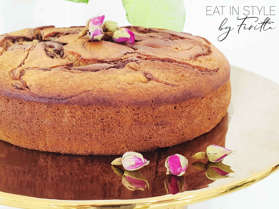 Make Ahead Spelt Banana Cake