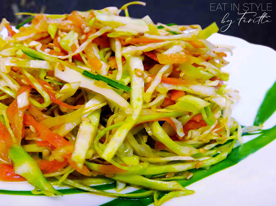 Asian sesame coleslaw