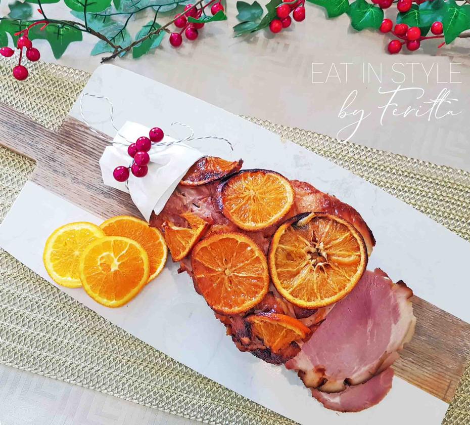 Easy Christmas Ham