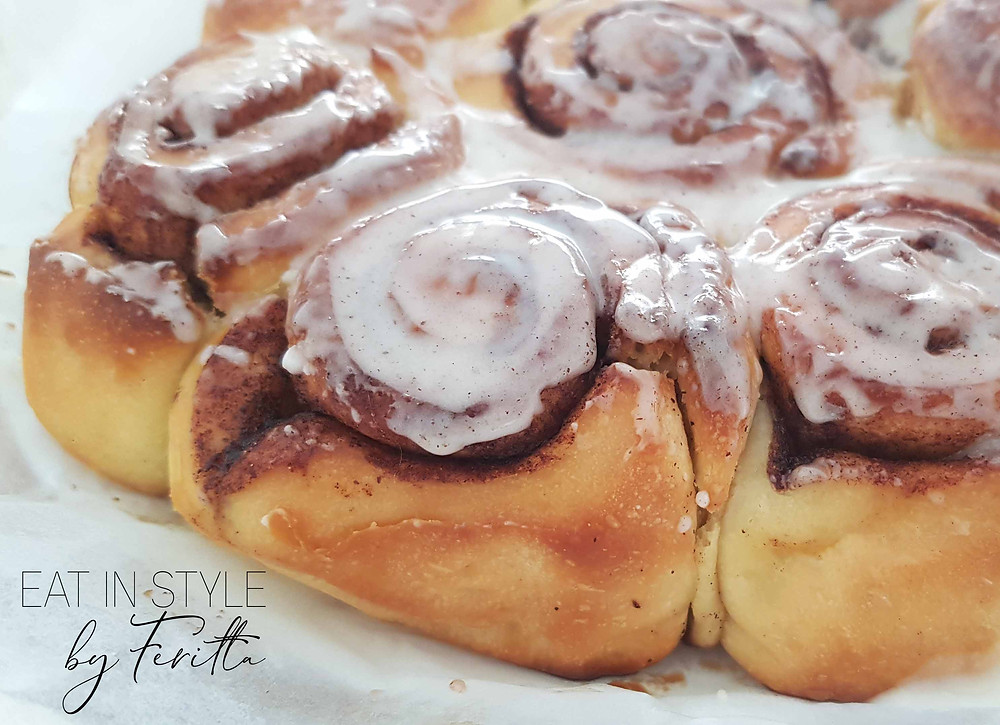 Easy Cinnamon Buns | Eat In Style by Feritta