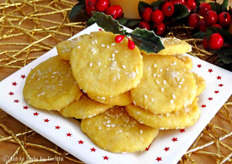 Sesame & Parmesan Biscuits