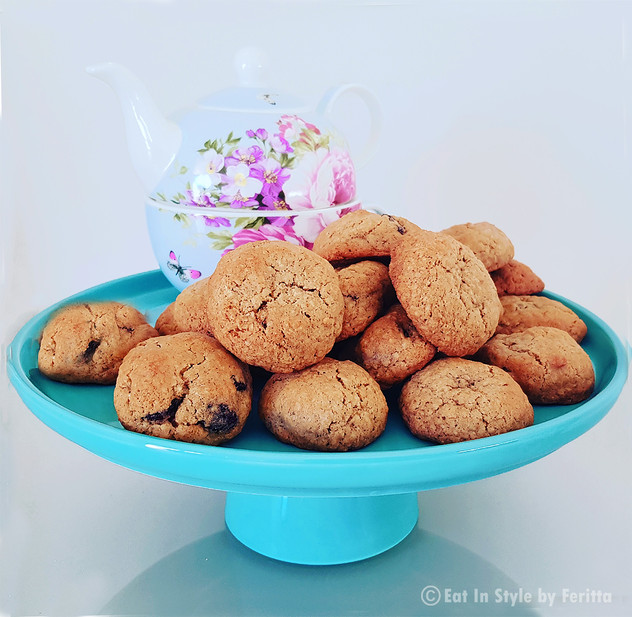Cranberry and Walnut Oat Cookies