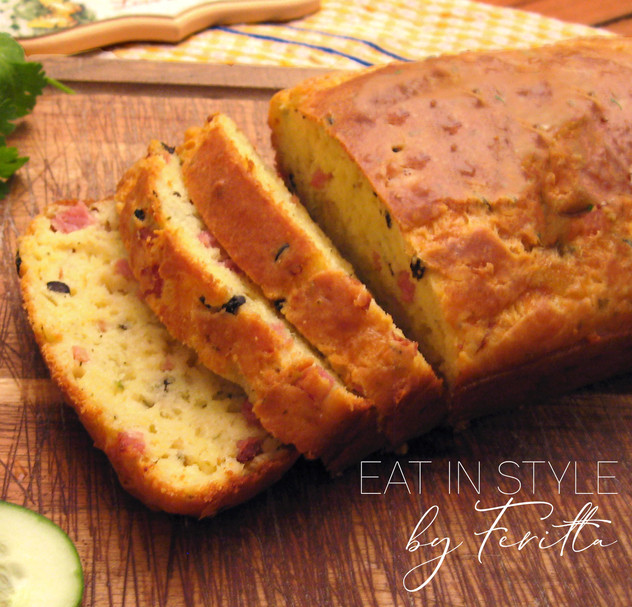 Bacon Cheese & Olive Loaf