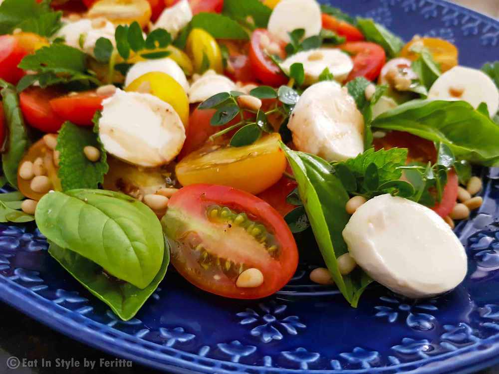 Tomato & Herb Festive Salad Eat In Style by Feritta