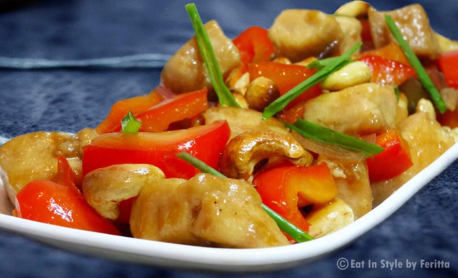 Chinese Chicken with Cashews