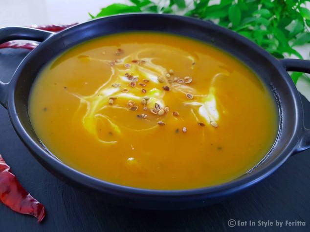 Indian Spiced Pumpkin Soup