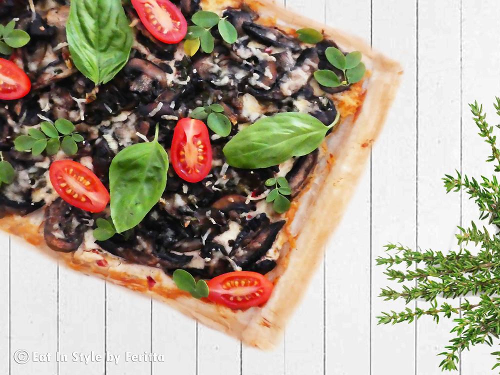 Quick Vegetarian Tart - Eat In Style by Feritta