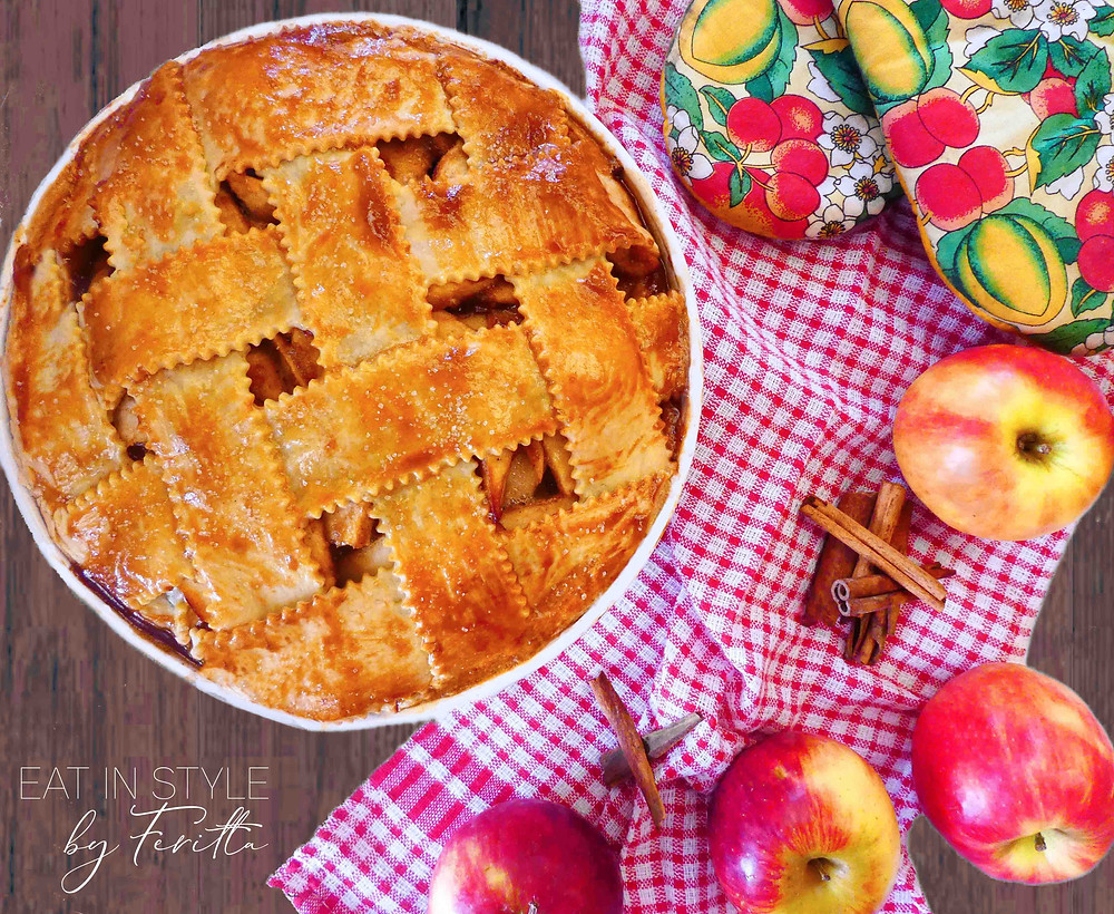 Spiced Apple Pie | Eat In Style by Feritta