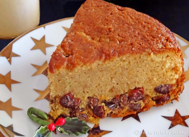 Last Minute Layered Christmas Cake