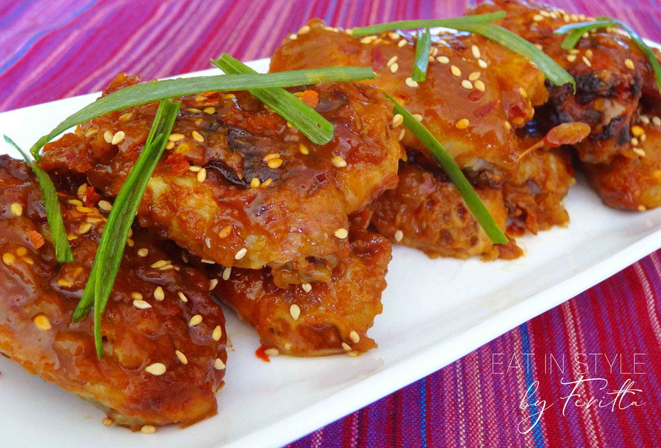 Ultimate BBQ Chicken Wings