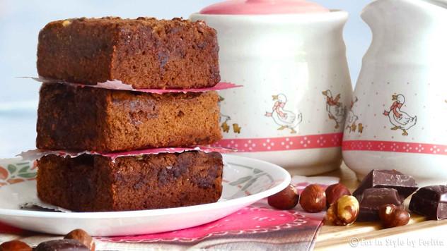 Hazelnut & Marshmallow Fudge Brownies