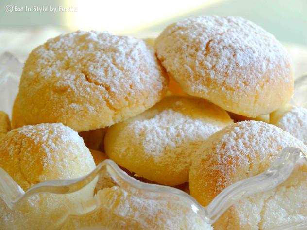 Greek Style Butter Cookies