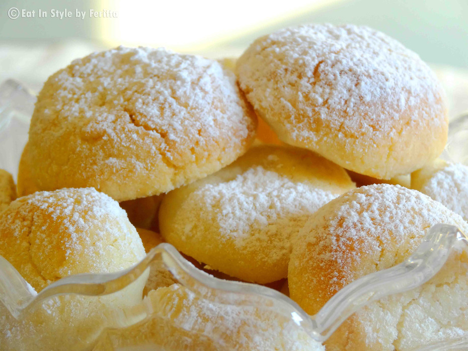 Greek Style Butter Cookies