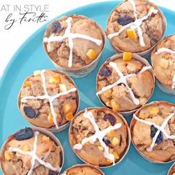 Hot Cross Muffins