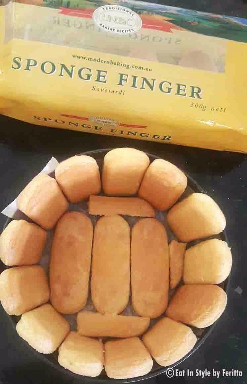 Sponge Finger for Strawberry Charlotte