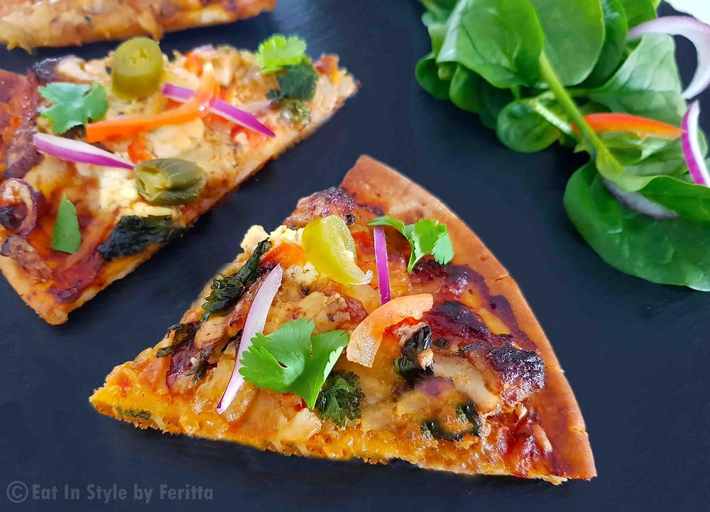 Tandoori Chicken Pizza   Eat In Style by Feritta