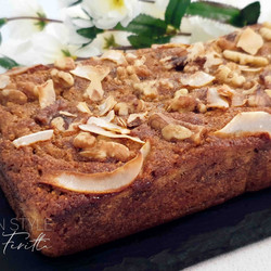 Easy One Bowl Coconut Flour Banana Cake