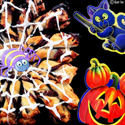 Halloween Spider Web Pastry