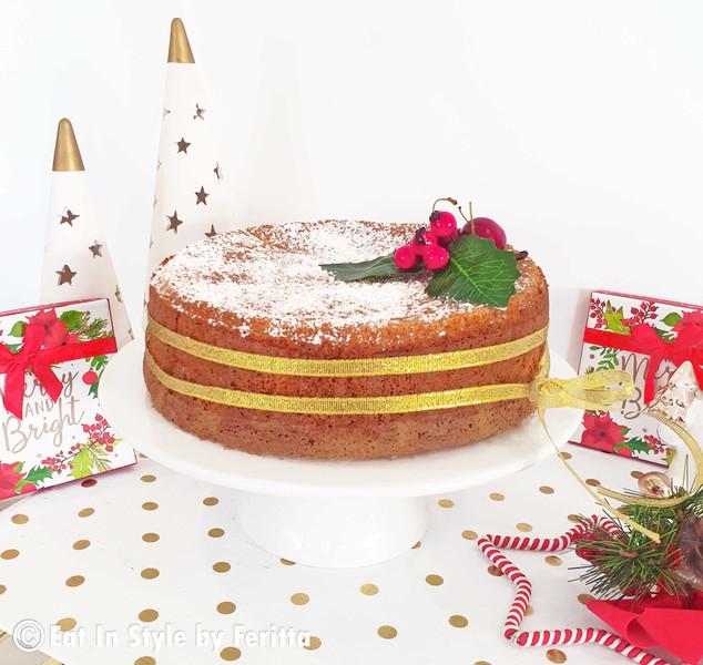 Citrus Almond Cake