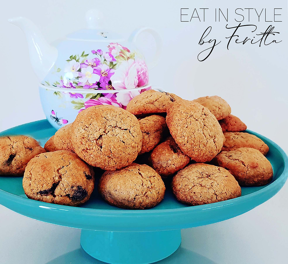 Walnut Cranberry & Oat Cookies | Eat In Style by Feritta