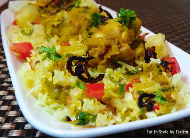 Parsi Style Chicken Biryani