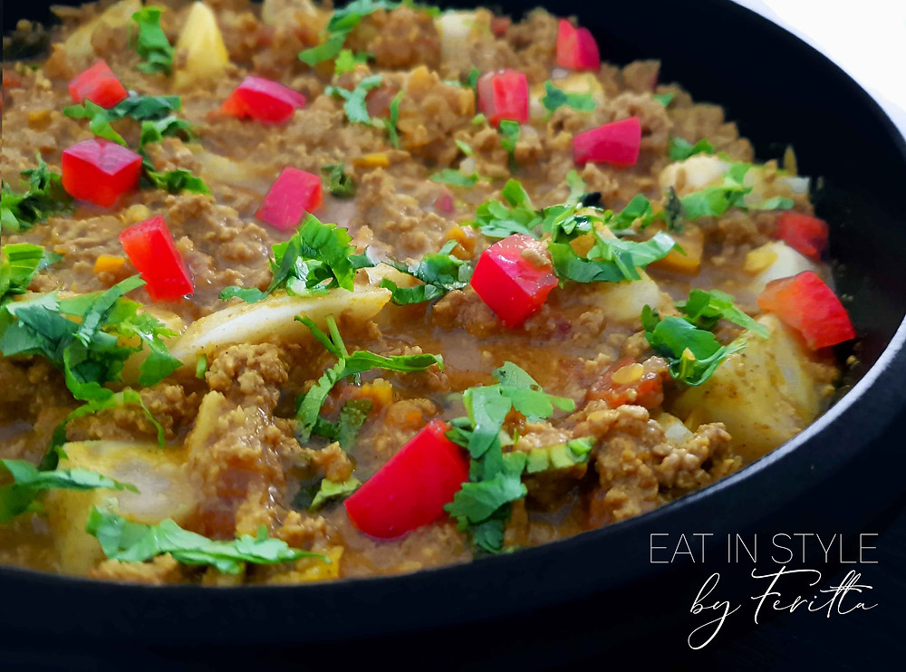 Parsi Style Kheema (Mince) | Eat In Style by Feritta