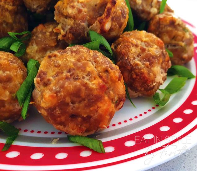 Easy Baked Lamb Meatballs