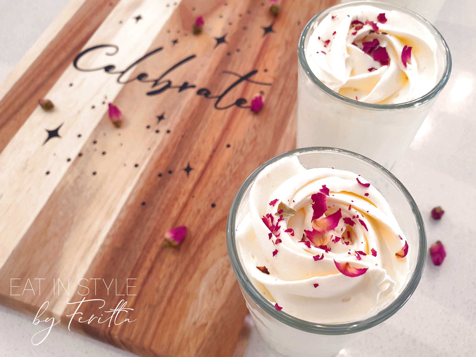 Coconut & White Chocolate Mousse