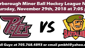 Get Your Tickets to the Peterborough Ball Hockey Night at the Petes
