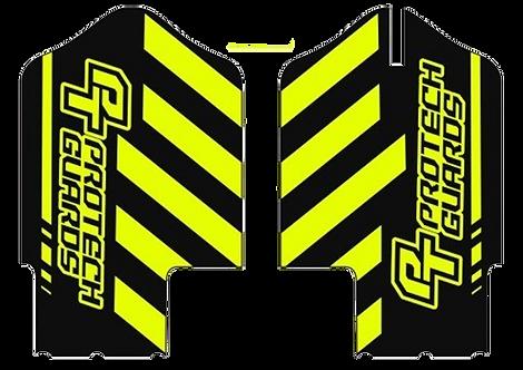 Team graphics fleuro yellow/black for Yamaha post 2008